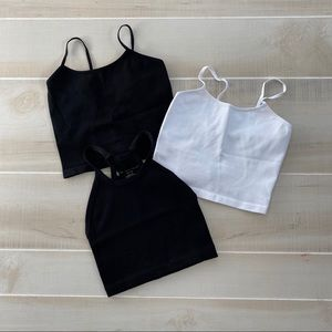 LOT 3 Free People Active Tops sz XS